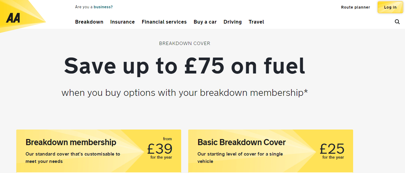 Hire Car European Breakdown Cover