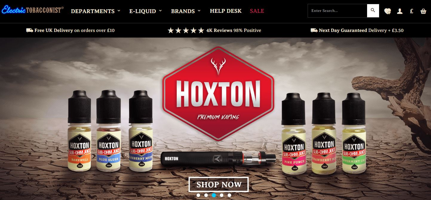 Electric tobacconist coupon code