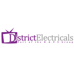 District Electricals logo