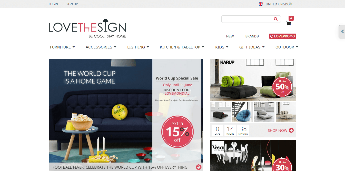 LoveTheSign Voucher Codes Discount Codes Free Delivery
