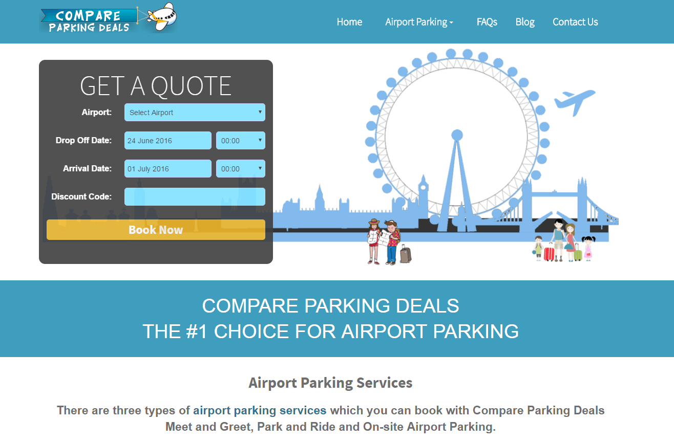 Compare Cheap Airport Car Parking Prices with Parking at Airports. At Parking At Airports our goal is to find you the best value airport car parking and you can save up to 72% when you book online today with our airport parking discount codes!