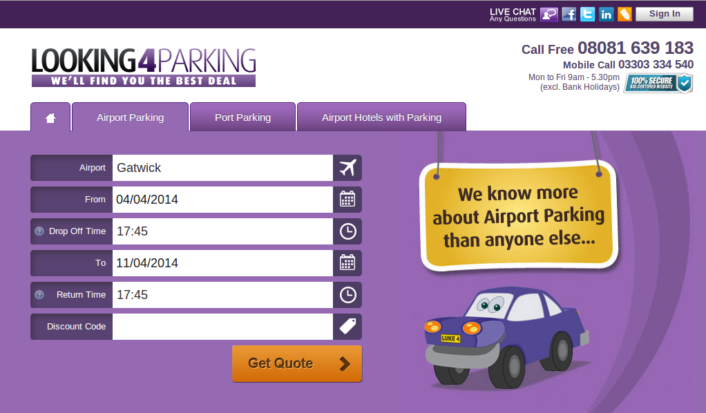 About Airport Parking & Hotels