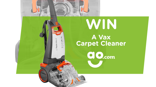 WIN A Vax Carpet Cleaner