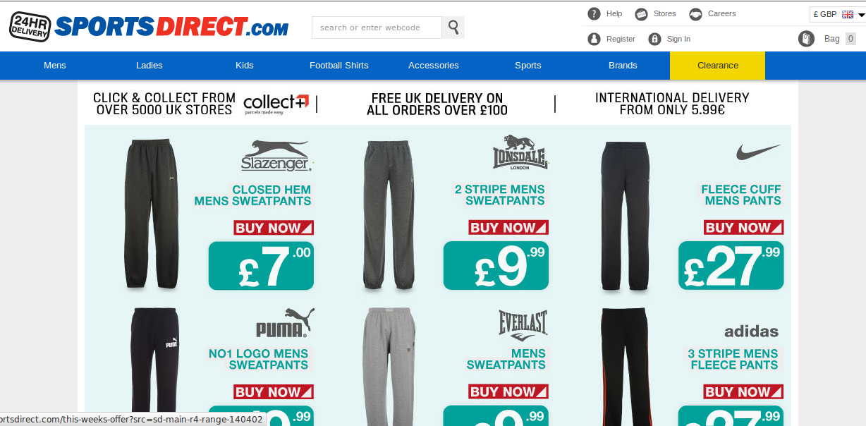 Sports direct discount coupons