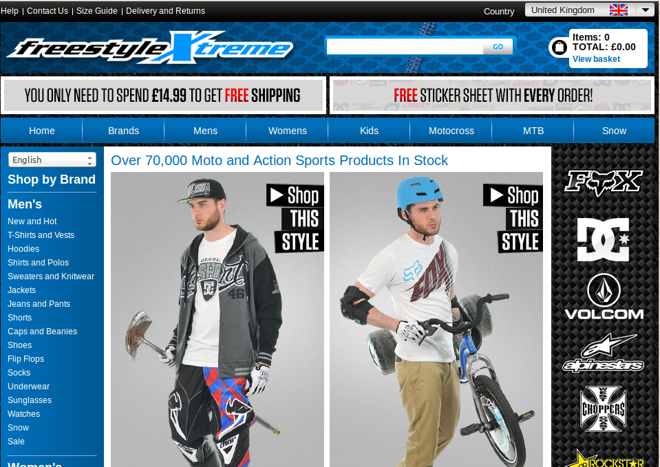 Freestylextreme coupons
