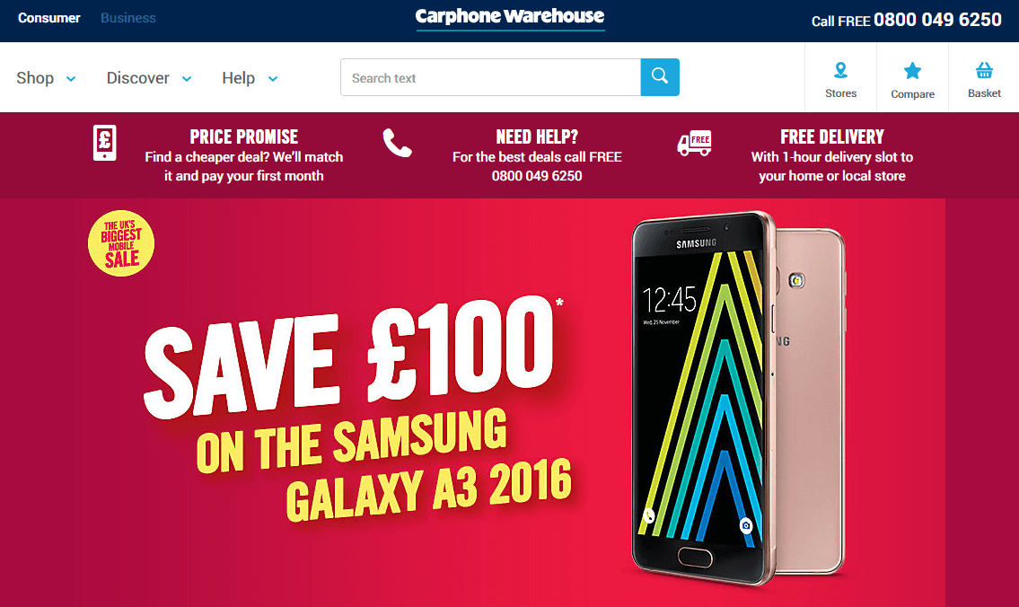 Get Unbeatable prices on contract phones compared across the widest range of networks at Carphone Warehouse. We know because we check. twitter cms description. Consumer Business Call FREE Menu; Shop Discover Help Mobile phones. All pay monthly phones; Free next day delivery.