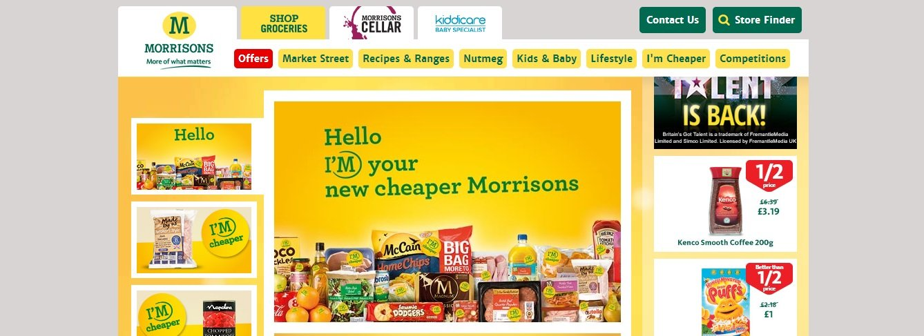Morrisons Online vouchers and Bundle offers The store promises that all your items will be delivered to you in perfect condition. Time and again, Morrisons puts up special bundle offers that help.