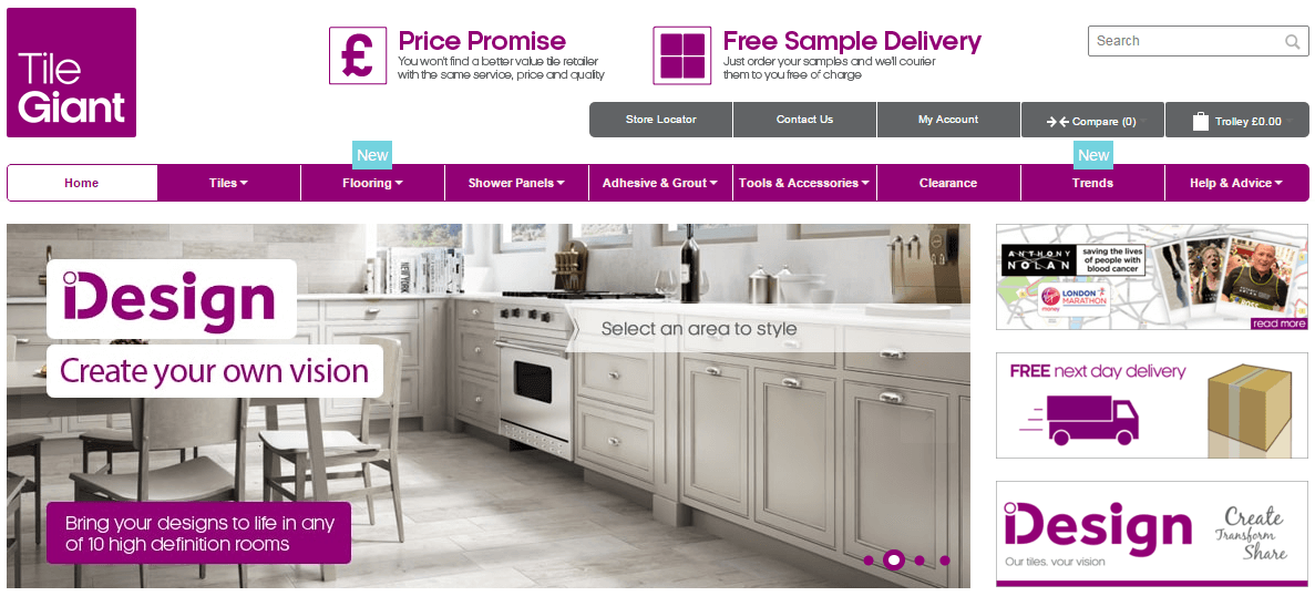 Tile Discount Code >> Tile Giant Discount Codes & Voucher Codes - £30 Off | My