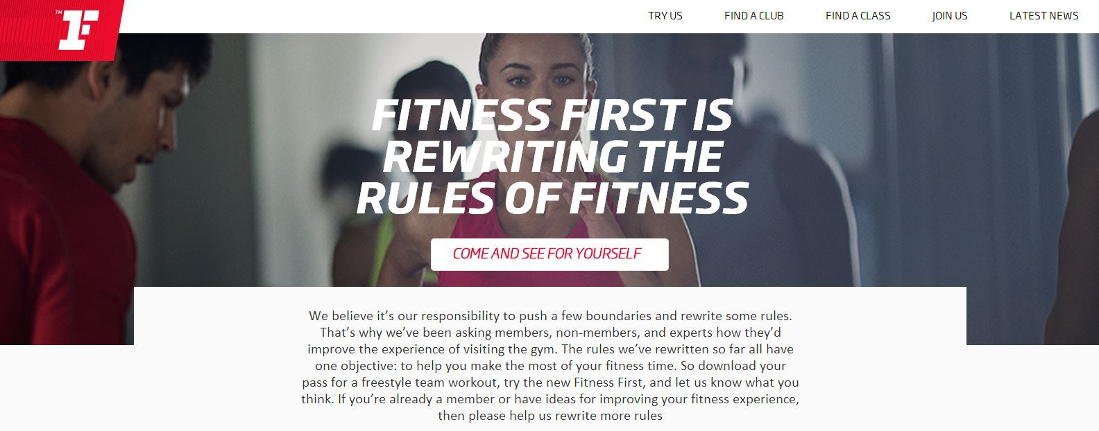 Coupons fitness first