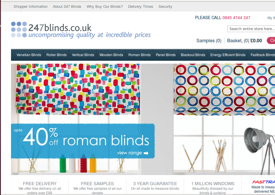 247 Blinds Voucher Codes Amp Discount Codes Free Delivery