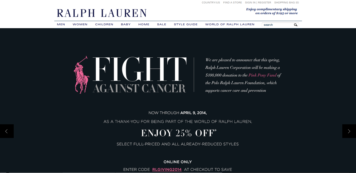 More Information about Ralph Lauren