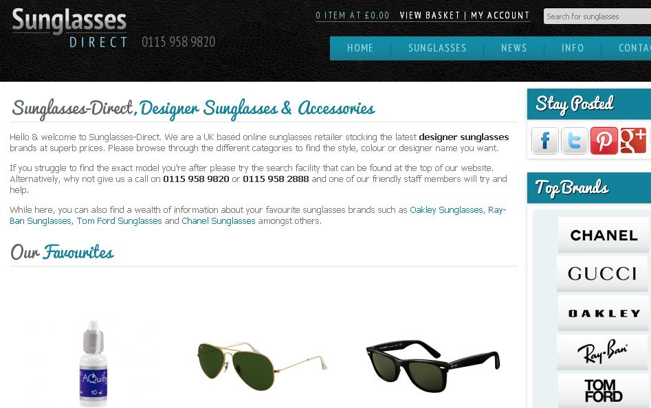 sunglasses direct  Sunglasses-Direct Voucher Codes \u0026 Discount Codes - Free Delivery