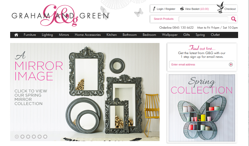 Graham and green discount codes voucher codes get 70 - Graham and green ...