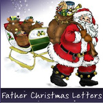 Father Christmas Letters logo