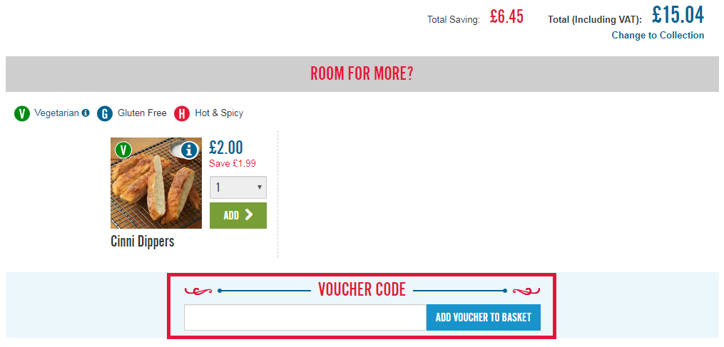 Dominos Voucher Code Redemption Image