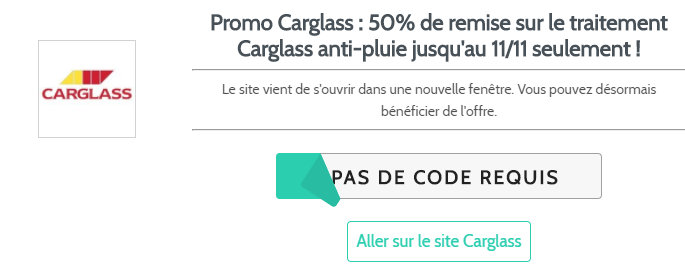 offre Carglass