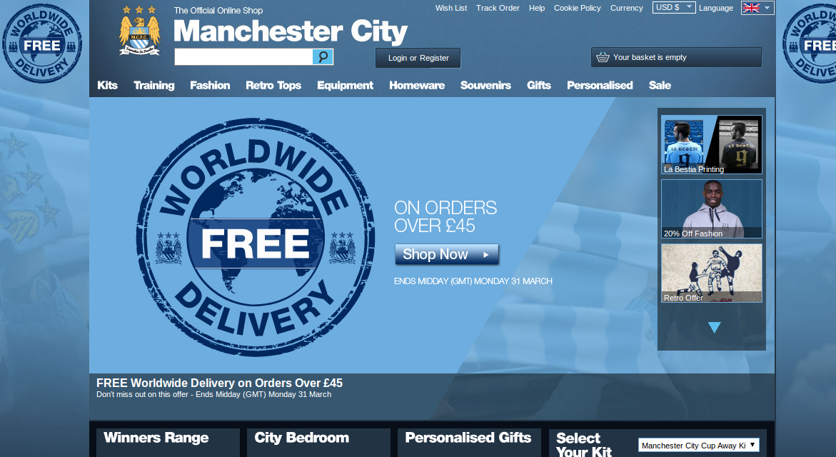 manchester city fc online shop voucher codes discount codes 70 off. Black Bedroom Furniture Sets. Home Design Ideas