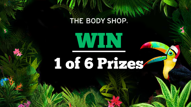 WIN 1 of 6 Prizes With The Body Shop