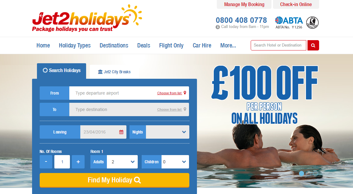 61 jet2 holiday promotion code