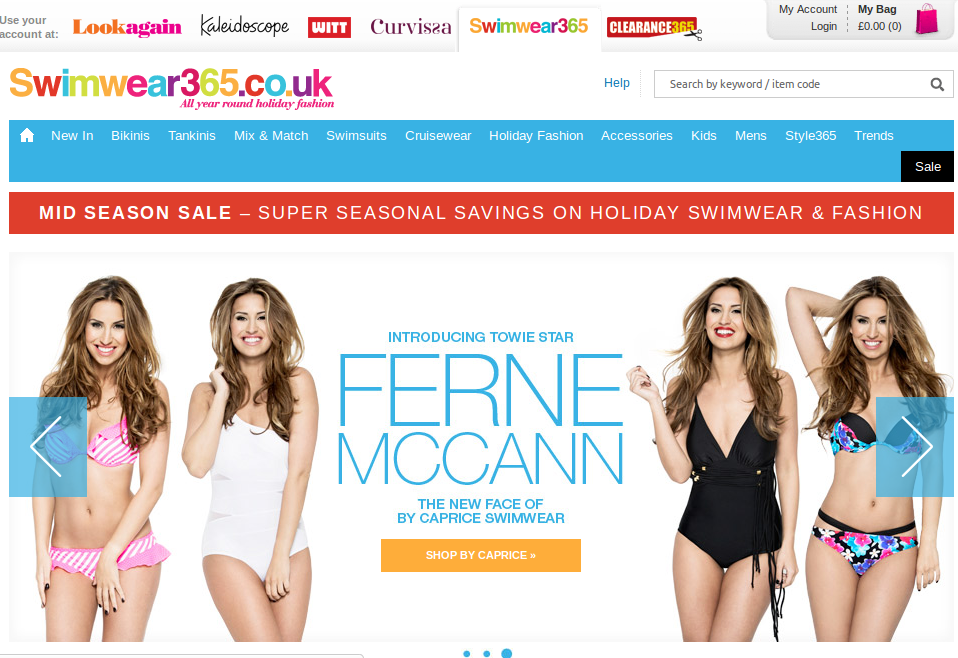 Swimwear365 coupon