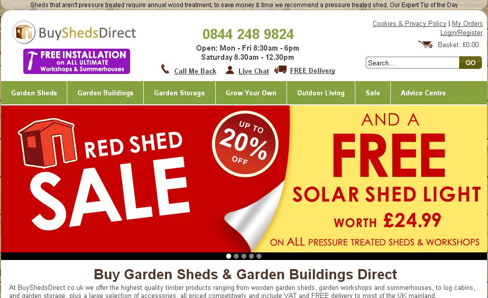 Buy sheds direct voucher codes discount codes 10 off for Craft direct promo code