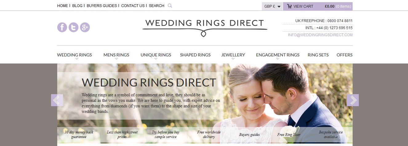 Wedding Rings Direct Voucher Codes Discount Codes 10 Off