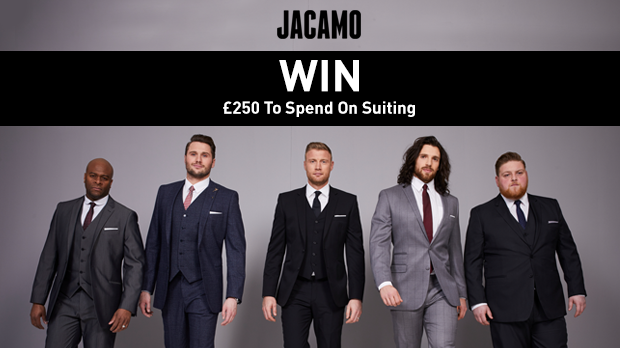 WIN £250 To Spend On Suiting With Jacamo