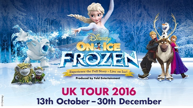 WIN A Family Ticket To Frozen On Ice