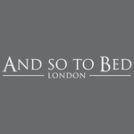 And So To Bed London logo