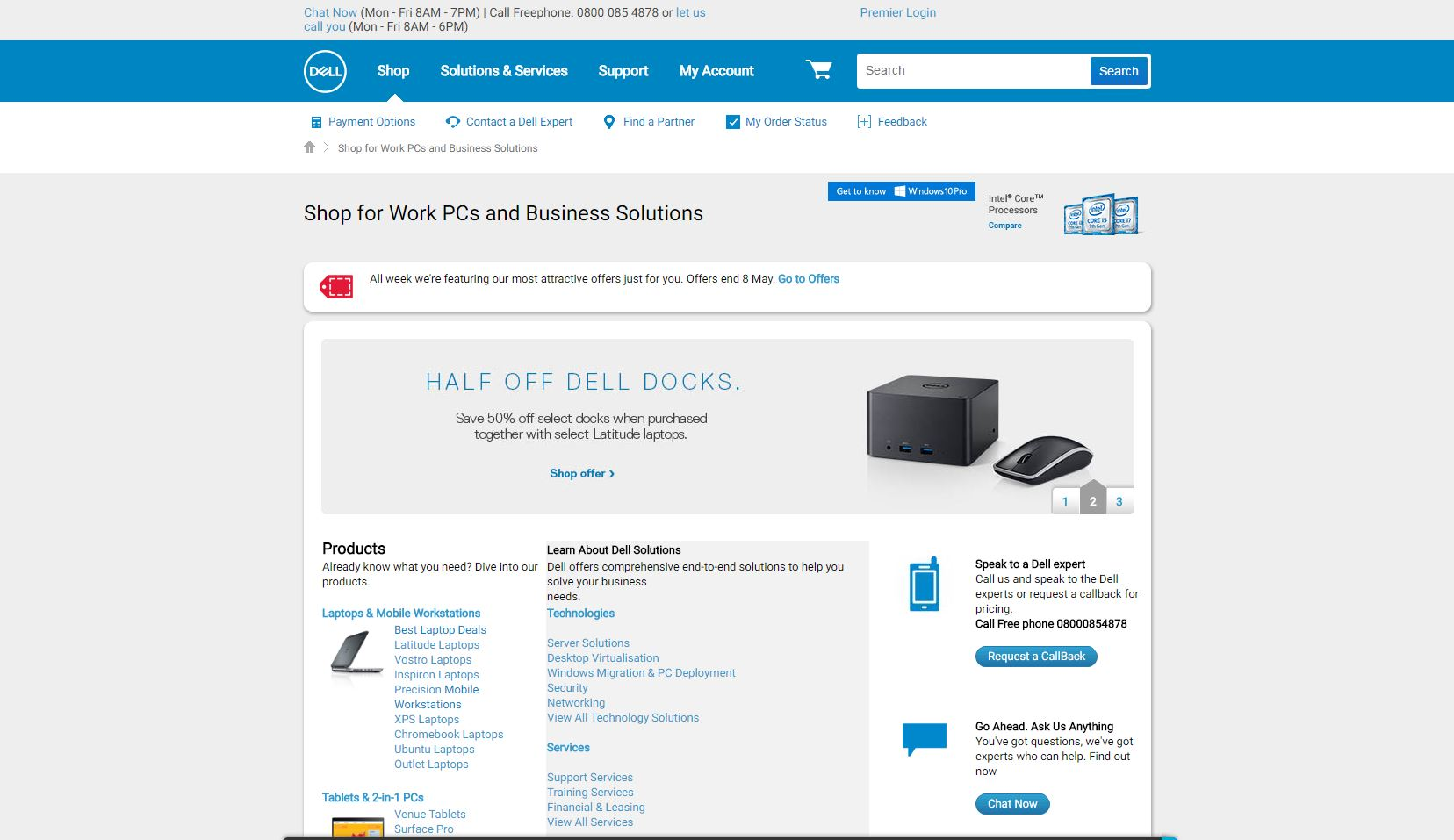 Dell website coupons
