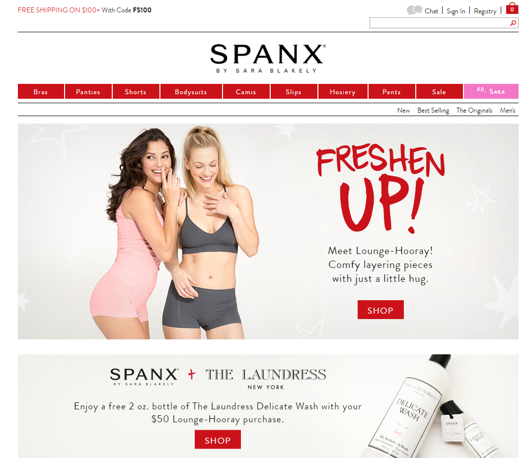 Spanx Online ShopAmazon Prime 2 Day Ship· Login with your Amazon ID· Free Shipping WorldwideGifts: For Her, For Him, For Home, For Kids and more.
